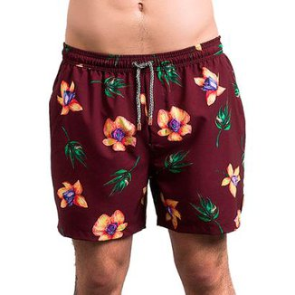 Swim Short Salt 35g s Button  Masculino