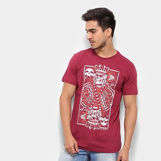 4469483ce201 Camiseta Silk Rukes King Of Skull Masculina