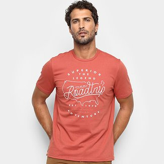 f0a5bf8c52c7a Camiseta Treebo Roadtrip Masculina