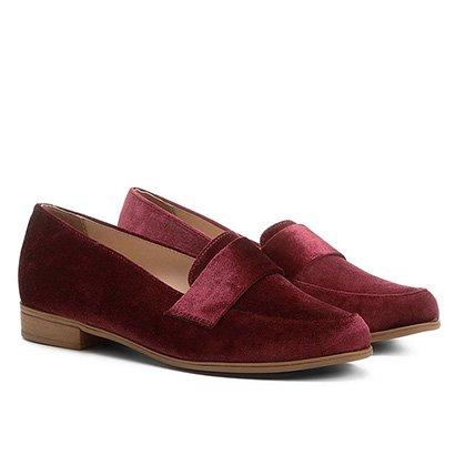 Mocassim Shoestock Veludo