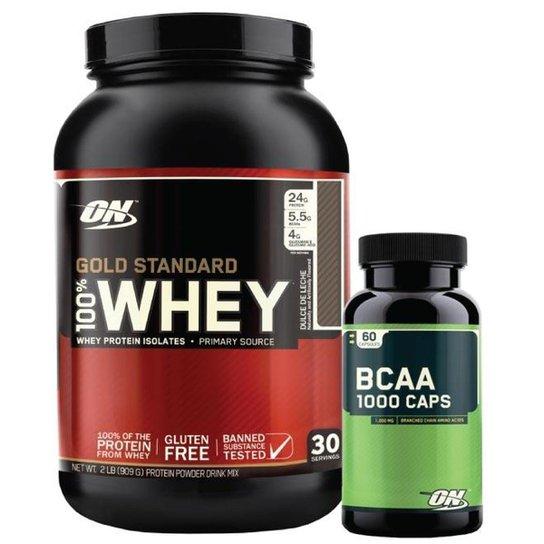 d62976c09 Kit - Whey Gold Standard + Bcaa 1000 - Optimum Nutrition - Doce de ...