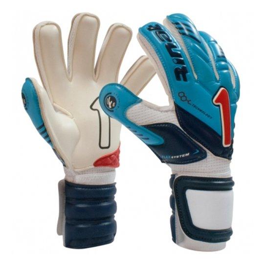 Luva Rinat Arkano Pro - Azul Turquesa+Vermelho 9470d3ace7942