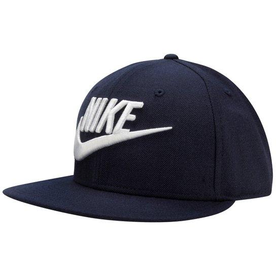 Boné Nike Aba Reta True - Marinho+Branco b2a8649757c