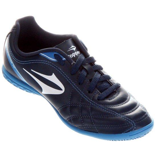 Chuteira Futsal Topper Titanium 4 Masculina - Compre Agora  ca1d8f1f4a76a