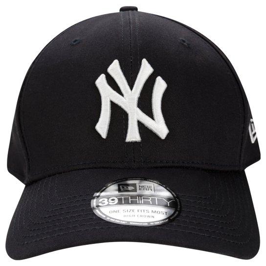 b79f57cb3 Boné New Era 3930 MLB New York Yankees - Marinho e Branco - Compre ...