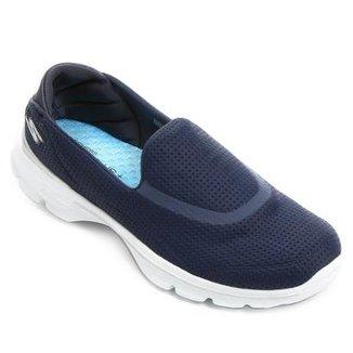 7be31dc937445 Sapatilha Skechers Go Walk 3 Unfold Feminina