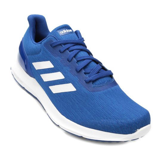 9014cef4dc0 Tênis Adidas Cosmic 2 Masculino - Branco e Azul Royal - Compre Agora ...