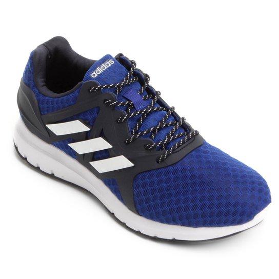 12fab4a597f46 Tênis Adidas Starlux Masculino - Branco e Azul Royal - Compre Agora ...