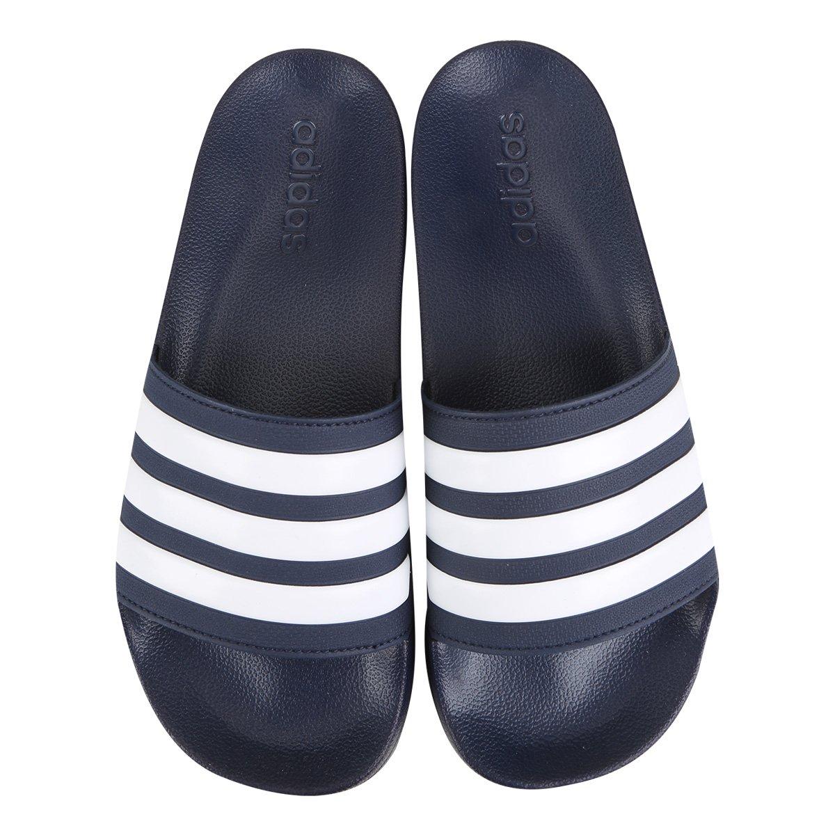 Chinelo Slide Adidas Adilette Cloudfoam Masculino - Tam: 38/39