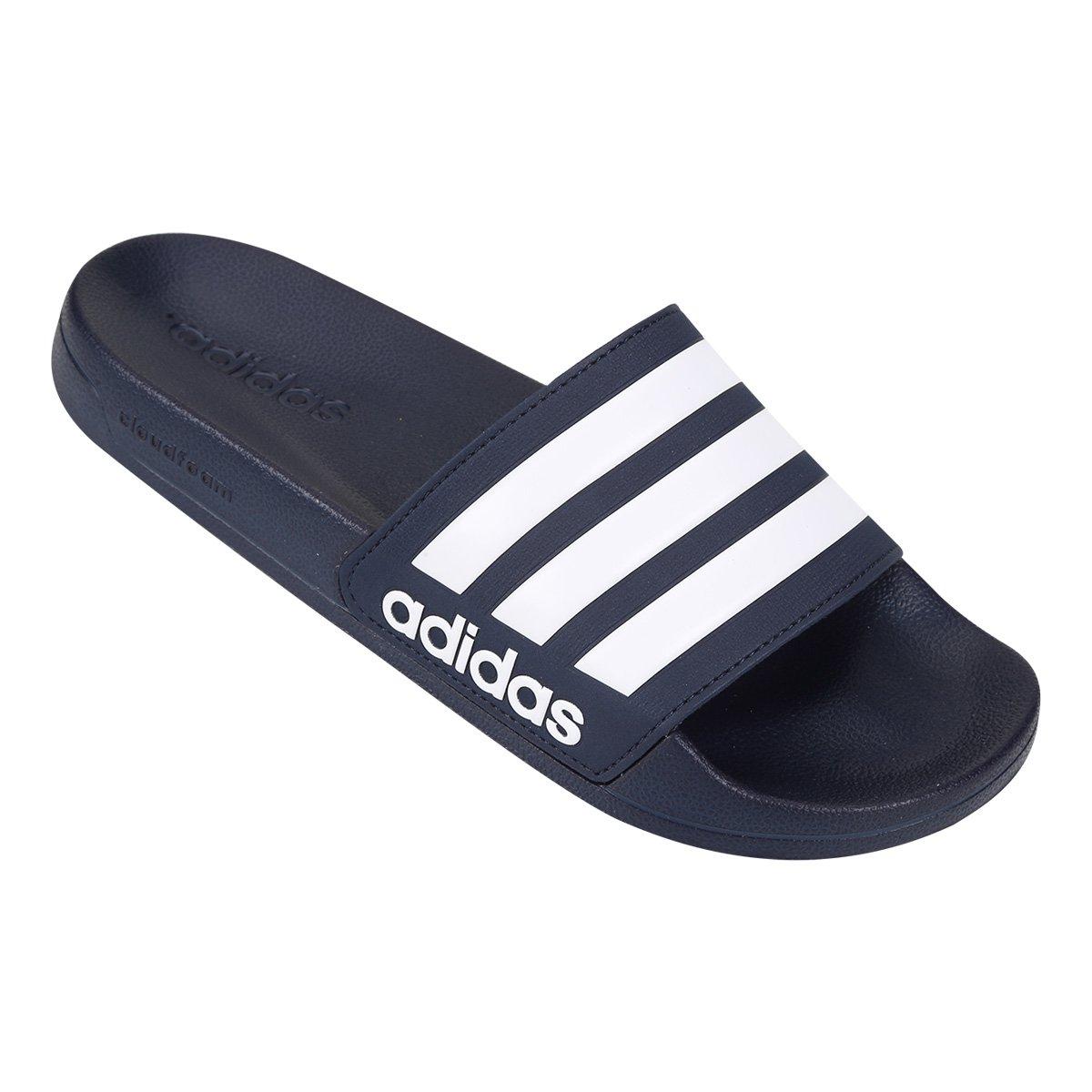 Chinelo Slide Adidas Adilette Cloudfoam Masculino - Tam: 38/39 - 1
