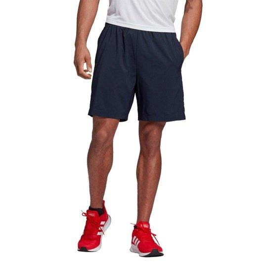 16c97c5bce Bermuda Adidas Essentials Linear Chelsea Masculina - Marinho+Branco
