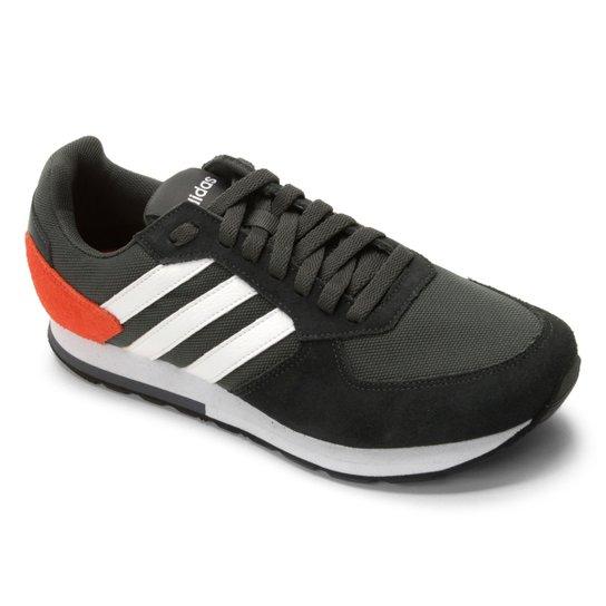 97d672819f Tênis Adidas 8K Masculino - Vermelho e Branco - Compre Agora