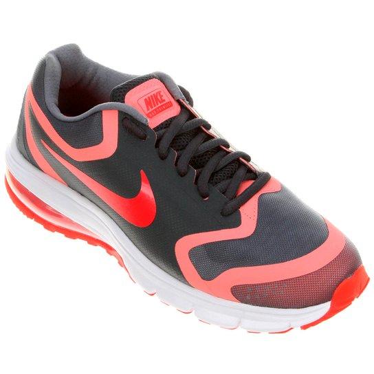 31bd2d6be5 Tênis Nike Air Max Premiere Run Feminino - Grafite+Laranja