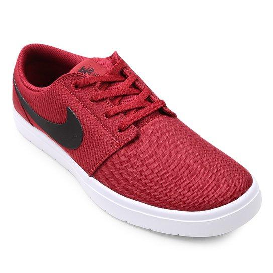 ef18e253d4e Tênis Nike SB Portmore II Ultralight Masculino - Vermelho - Compre ...