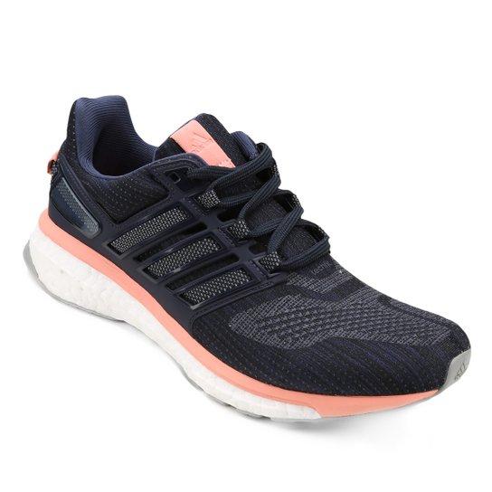 534956562e Tênis Adidas Energy Boost 3 Feminino - Marinho e Branco - Compre ...