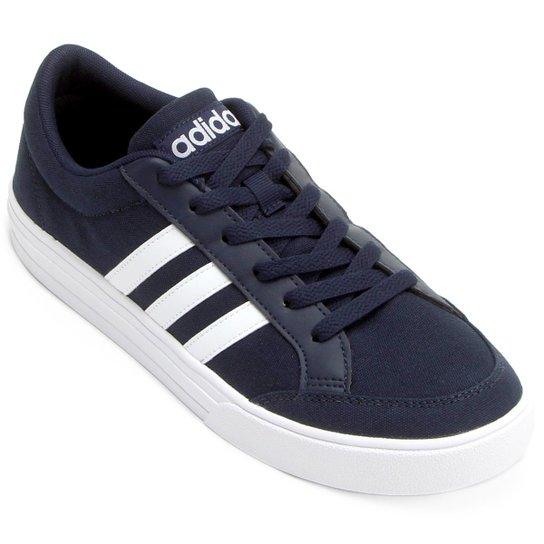 a3322635e Tênis Adidas Vs Set Masculino - Marinho+Branco