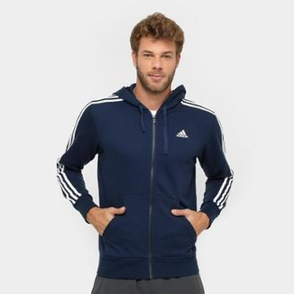 721710db8d Moletom Adidas Essentials 3S French Terry C  Capuz