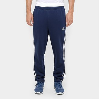 Calça Adidas Essential 3S Tapered French Terry Masculina 6c49e1431925f