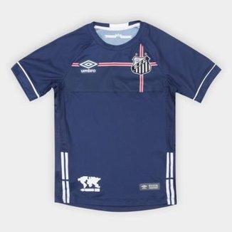 Camisa Santos Infantil 2018 s n° The Kingdom Torcedor Umbro f3e130e43f3b5