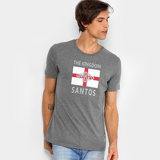 c0ba1b015 Camiseta Santos The Kingdom Torcedor Umbro Masculina