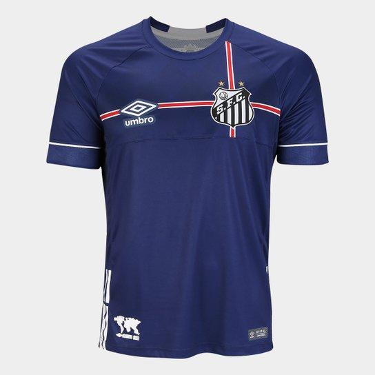 6256f0430f Camisa Santos 2018 s n° The Kingdom - Torcedor Umbro Masculina - Marinho+