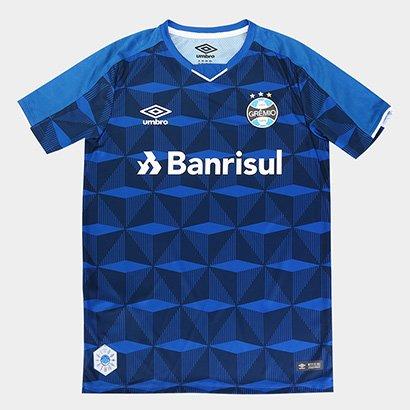 Camisa Grêmio Infantil III 19/20 s/n° - Torcedor Umbro