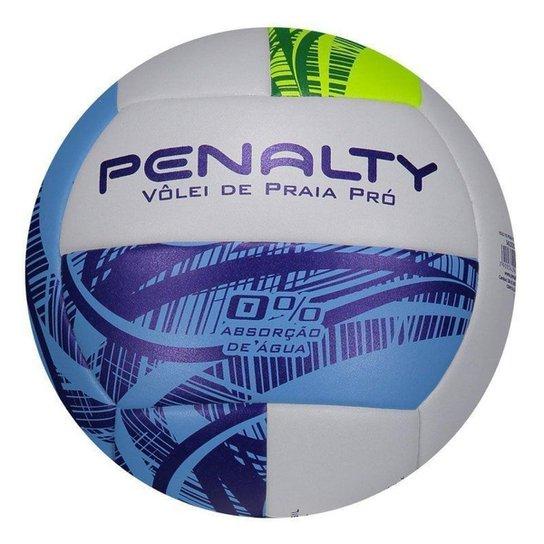 0f3129869 Bola Vôlei Praia Penalty Pro Ix - Branco e Azul Royal - Compre Agora ...