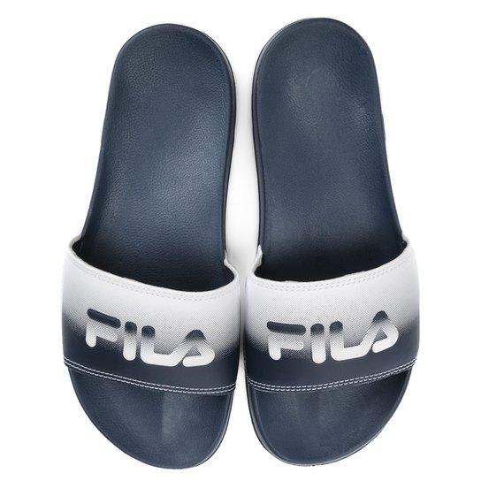 91e32f575 Chinelo Fila Drifter Style - Marinho+Branco