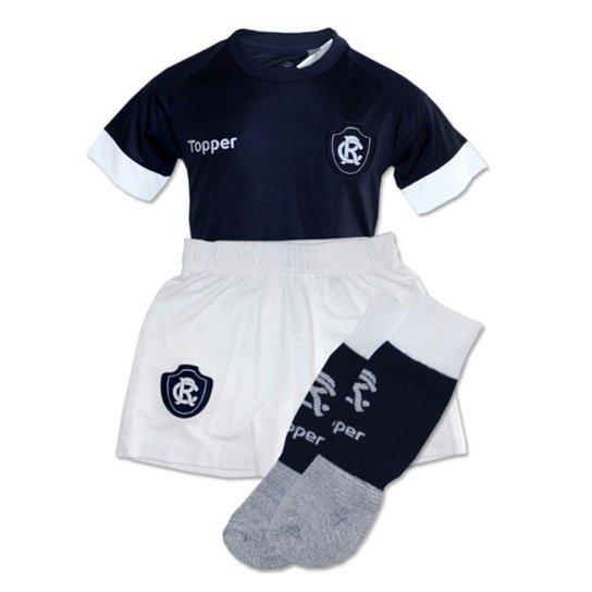 310131d0974df Kit Topper Remo Home Infantil - Marinho e Branco - Compre Agora ...
