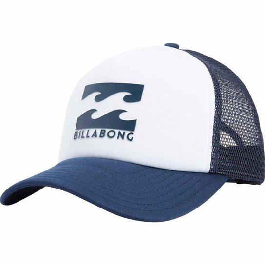 Boné Billabong Podium Trucker - Marinho e Branco - Compre Agora ... 27565bb9c15
