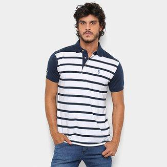 Camisa Polo Aleatory Listrada Masculina 924fe57a70965