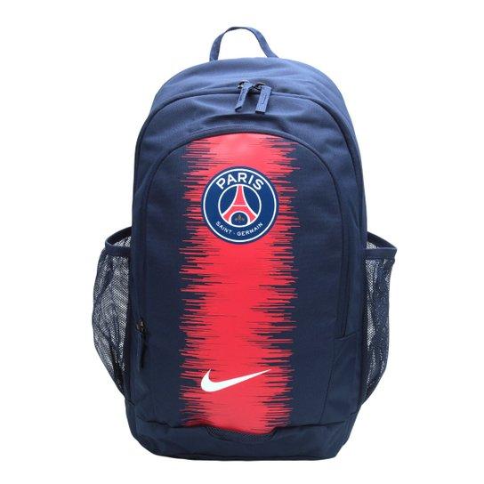 f54b190d6a871 Mochila Paris Saint Germain Nike Stadium - Marinho e Branco - Compre ...