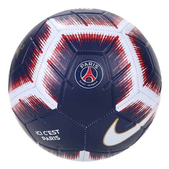 2674938d4 Bola de Futebol Campo Paris Saint-Germain Nike Strike - Marinho+Branco