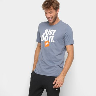d350b8bd87ca6 Camiseta Nike Estampa Just Do It HBR 3 Masculina