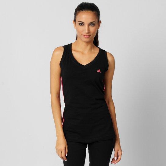 Camiseta Regata Adidas ESS 3S - Compre Agora  8570db8d1617a