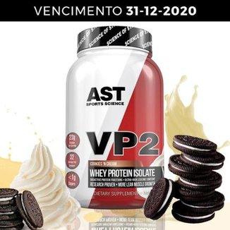 804bd3644 VP2 Whey Protein 100% Hidrolisado e Isolado com Selo Oficial AST Sports  Science por 77i