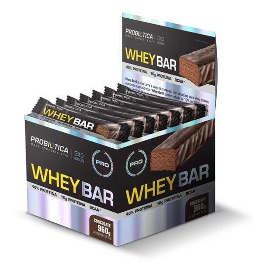 a5dbc754b Whey Bar cx c  24 unidades - Probiótica - Cookies - Compre Agora ...