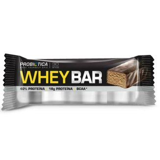 ad3b2283b Barra de Proteína Whey Bar Low Carb 40G - Probiótica - Côco