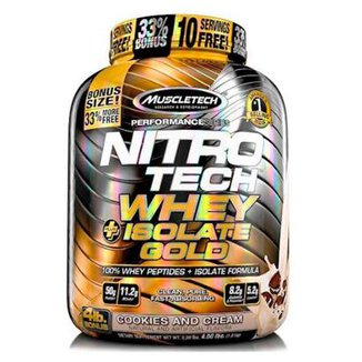 Nitrotech Isolate Gold (4Lbs) - Muscletech