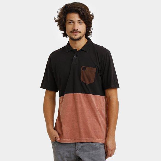 179b302ba3 Camisa Polo Hang Loose Colorblock - Compre Agora