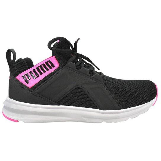 Tênis Puma Enzo Weave Bdp Feminino - Preto e Pink - Compre Agora ... 0cdc420567ba3