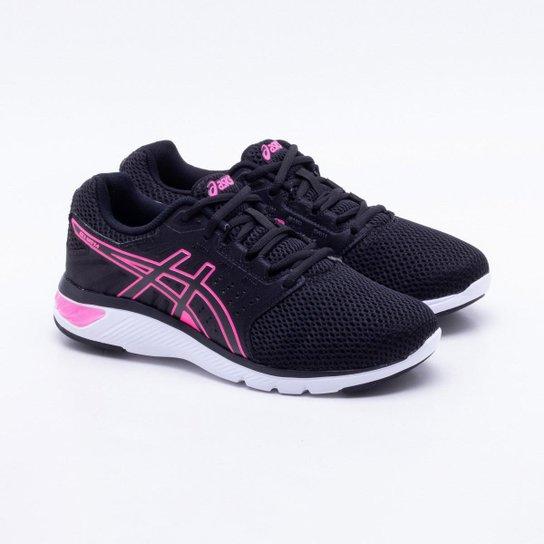 Tênis Asics Gel Moya Feminino - Preto e Pink - Compre Agora  54e0da88c207d
