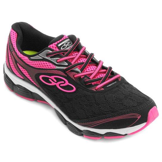 258adb165bc7b Tênis Olympikus Maxim 3 W Feminino - Preto e Pink | Netshoes