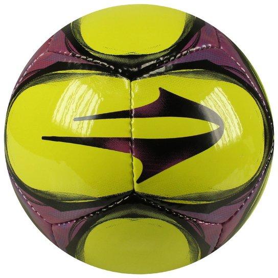 8e6595cd04 Bola Futsal Topper Ultra VIII - Verde Limão+Roxo
