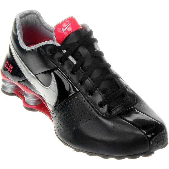 3a12baf10d1 Tênis Nike Shox Deliver - Preto+Rosa Escuro