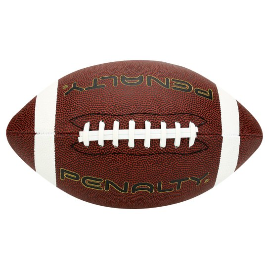 575cd3b2acef3 Bola Futebol Americano Penalty - Marrom Claro - Compre Agora