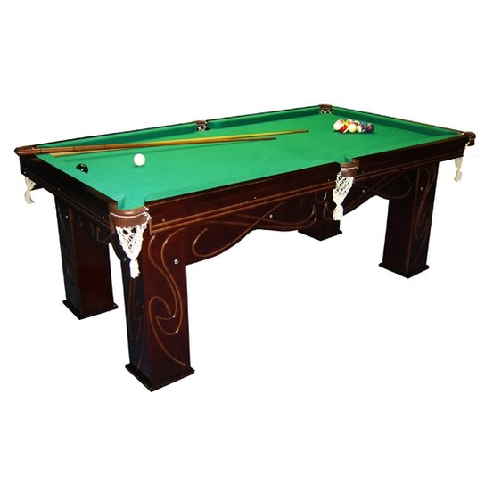 cb13c945f18d8 Mesa Klopf Sinuca Residencial Luxo Verniz - Compre Agora