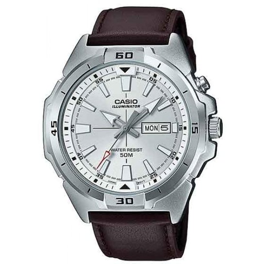 4f3a8fefb98 Relógio Casio Mtp-E203l-7avdf-Br Masculino - Marrom - Compre Agora ...