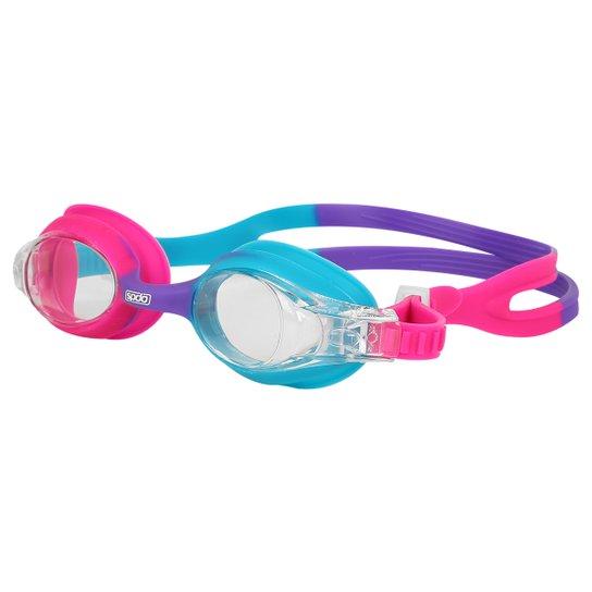 634ac1621 Óculos Speedo Quick Junior - Azul Piscina e Pink