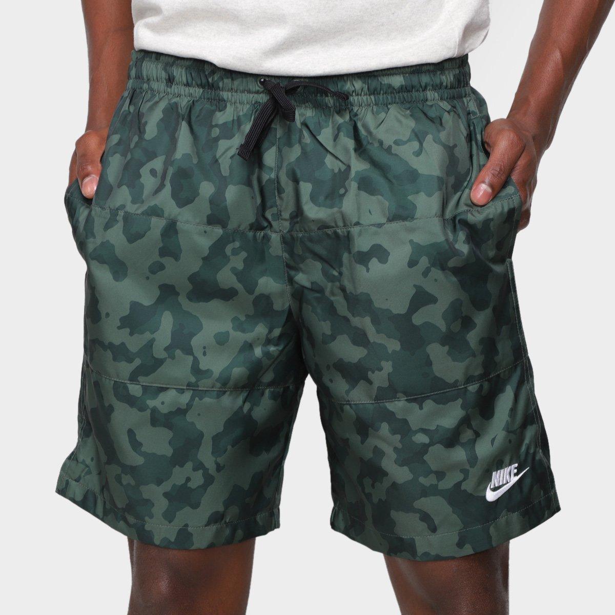 Short Nike Camuflado Masculino
